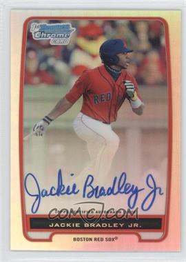 2012 Bowman Chrome Prospects Certified Autographs Refractor #BCP66 - Jackie Bradley Jr. /500