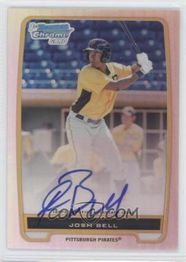 2012 Bowman Chrome Prospects Certified Autographs Refractor #BCP79 - Josh Bell /500
