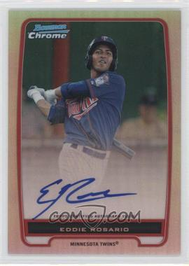 2012 Bowman Chrome Prospects Certified Autographs Refractor #BCP9 - Eddie Rosario /500