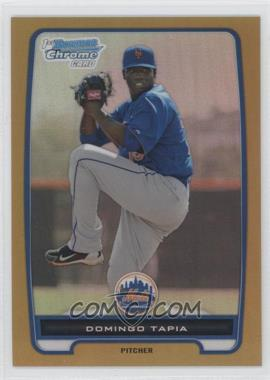 2012 Bowman Chrome Prospects Gold Refractor #BCP211 - Domingo Tapia /50