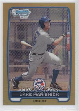 2012 Bowman Chrome Prospects Gold Refractor #BCP23 - Jake Marisnick /50