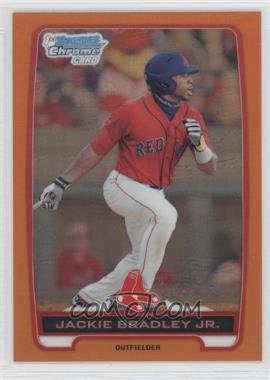 2012 Bowman Chrome Prospects Orange Refractor #BCP66 - Jackie Bradley Jr. /25