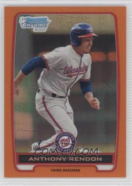 2012 Bowman Chrome Prospects Orange Refractor #BCP88 - Anthony Rendon /25