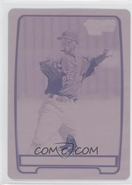 2012 Bowman Chrome Prospects Printing Plate Magenta #BCP55 - Jose Vinicio /1