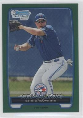 2012 Bowman Chrome Prospects Rack Pack Green Refractor #BCP138 - Chris Hawkins