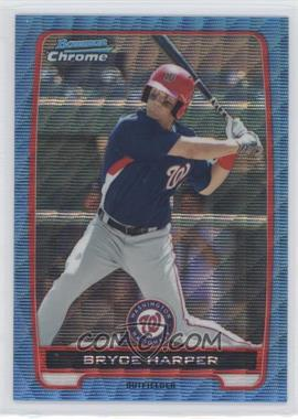 2012 Bowman Chrome Prospects Redemption Refractor Blue Wave #BCP10 - Bryce Harper