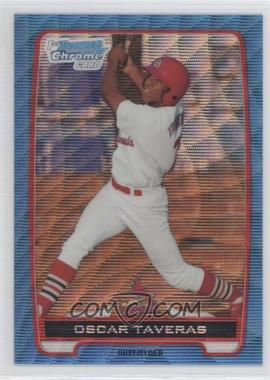2012 Bowman Chrome Prospects Redemption Refractor Blue Wave #BCP102 - Oscar Taveras
