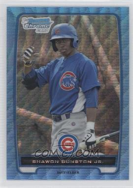 2012 Bowman Chrome Prospects Redemption Refractor Blue Wave #BCP117 - Shawon Dunston Jr.