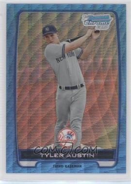 2012 Bowman Chrome Prospects Redemption Refractor Blue Wave #BCP17 - Tyler Austin