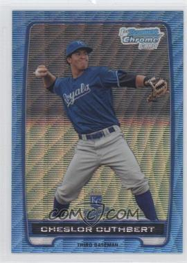 2012 Bowman Chrome Prospects Redemption Refractor Blue Wave #BCP58 - Cheslor Cuthbert