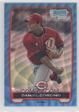 2012 Bowman Chrome Prospects Redemption Refractor Blue Wave #BCP59 - Daniel Corcino