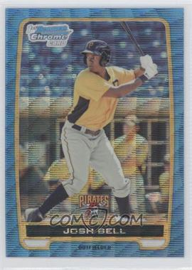 2012 Bowman Chrome Prospects Redemption Refractor Blue Wave #BCP79 - Josh Bell