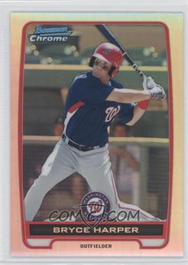 2012 Bowman Chrome Prospects Refractor #BCP10 - Bryce Harper /500