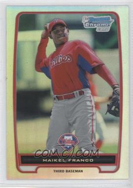 2012 Bowman Chrome Prospects Refractor #BCP112 - Maikel Franco