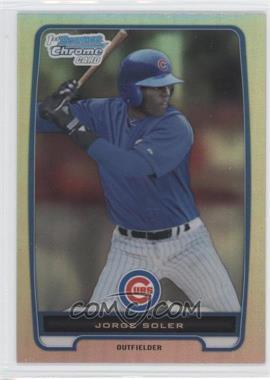 2012 Bowman Chrome Prospects Refractor #BCP120 - Jorge Soler