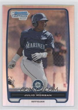 2012 Bowman Chrome Prospects Refractor #BCP124 - Julio Morban