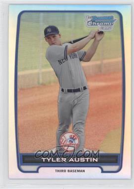 2012 Bowman Chrome Prospects Refractor #BCP17 - Tyler Austin /500