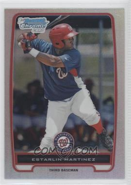 2012 Bowman Chrome Prospects Refractor #BCP181 - Estarlin Martinez