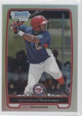 2012 Bowman Chrome Prospects Refractor #BCP181 - Estarlin Martinez