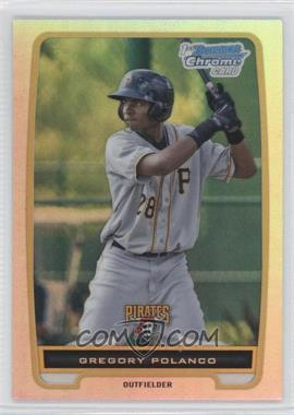 2012 Bowman Chrome Prospects Refractor #BCP182 - Gregory Polanco