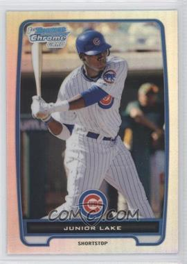 2012 Bowman Chrome Prospects Refractor #BCP213 - Junior Lake