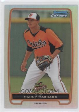 2012 Bowman Chrome Prospects Refractor #BCP217 - Manny Machado