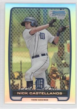 2012 Bowman Chrome Prospects Refractor #BCP78 - Nick Castellanos /500