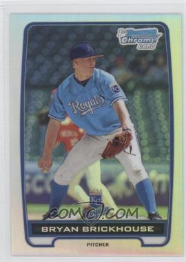 2012 Bowman Chrome Prospects Refractor #BCP84 - Bryan Brickhouse /500