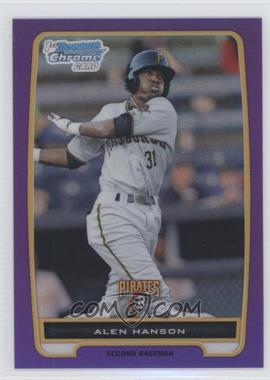2012 Bowman Chrome Prospects Retail Purple Refractor #BCP143 - Alen Hanson /199