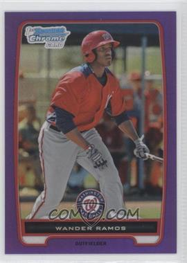 2012 Bowman Chrome Prospects Retail Purple Refractor #BCP166 - Wander Ramos /199