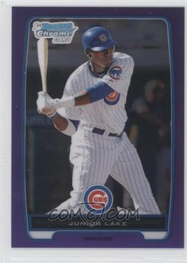 2012 Bowman Chrome Prospects Retail Purple Refractor #BCP213 - Junior Lake /199