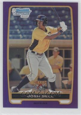 2012 Bowman Chrome Prospects Retail Purple Refractor #BCP79 - Josh Bell /199