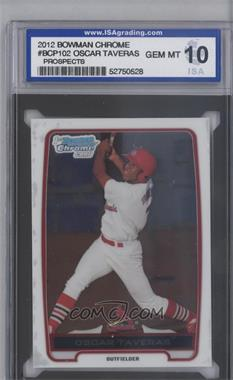 2012 Bowman Chrome Prospects #BCP102 - Oscar Taveras [ENCASED]