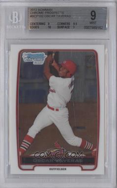 2012 Bowman Chrome Prospects #BCP102 - Oscar Taveras [BGS9]