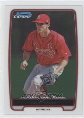 2012 Bowman Chrome Prospects #BCP137.2 - Colin Walsh (Fielding)