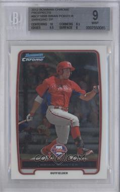 2012 Bowman Chrome Prospects #BCP169.2 - Brian Pointer (Swinging Short Print) [BGS 9]