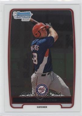 2012 Bowman Chrome Prospects #BCP209 - David Freitas