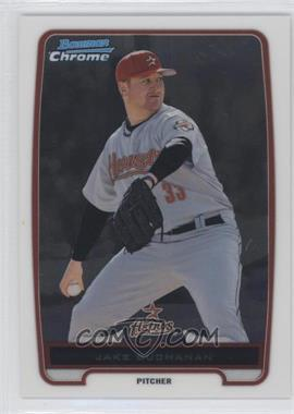 2012 Bowman Chrome Prospects #BCP215.2 - Jake Buchanan (Short Print Grey Jersey)
