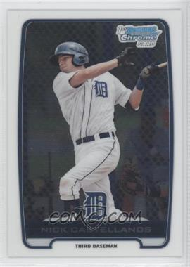 2012 Bowman Chrome Prospects #BCP78 - Nick Castellanos