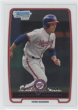 2012 Bowman Chrome Prospects #BCP88 - Anthony Rendon