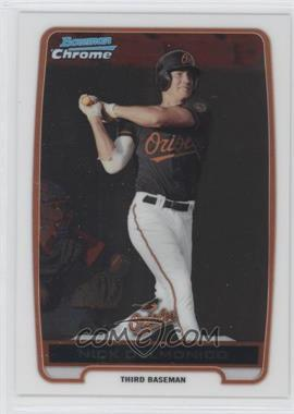 2012 Bowman Chrome Prospects #BCP92 - Nick Delmonico