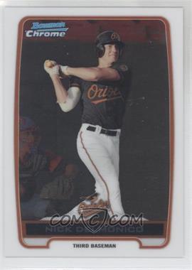 2012 Bowman Chrome Prospects #BCP92 - Nick Delmonico