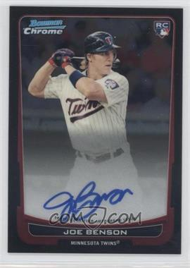 2012 Bowman Chrome Rookie Certified Autographs [Autographed] #215 - Joe Benson