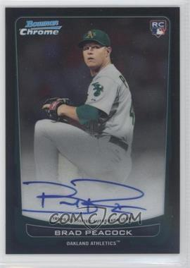 2012 Bowman Chrome Rookie Certified Autographs [Autographed] #216 - Brad Peacock