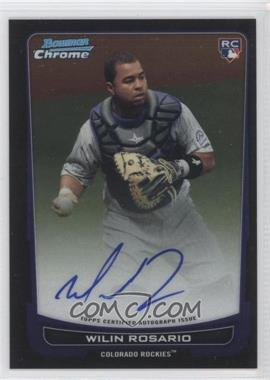 2012 Bowman Chrome Rookie Certified Autographs [Autographed] #218 - Wilin Rosario