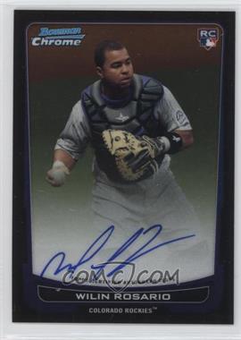2012 Bowman Chrome Rookie Certified Autographs [Autographed] #218 - Wilin Rosario