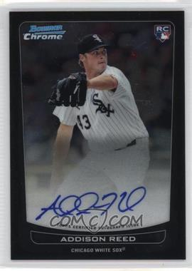2012 Bowman Chrome Rookie Certified Autographs [Autographed] #220 - Addison Reed