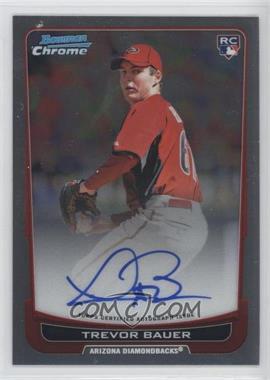 2012 Bowman Chrome Rookie Certified Autographs [Autographed] #RA-TB - Trevor Bauer