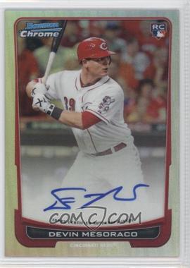 2012 Bowman Chrome Rookie Certified Autographs Refractor [Autographed] #214 - Devin Mesoraco /500