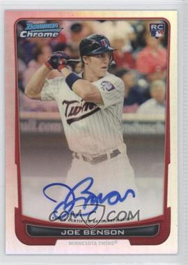 2012 Bowman Chrome Rookie Certified Autographs Refractor [Autographed] #215 - Joe Benson /500